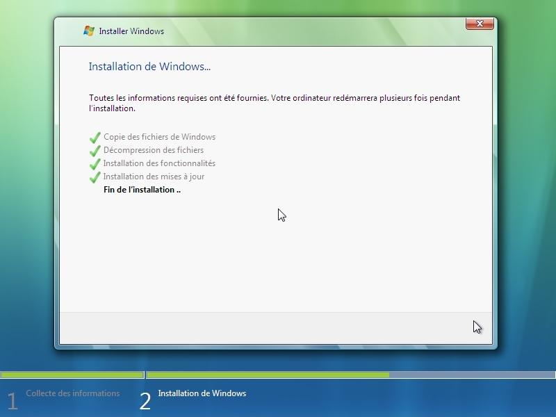 Installer windows xp professionnel partie 2 for Fenetre windows xp